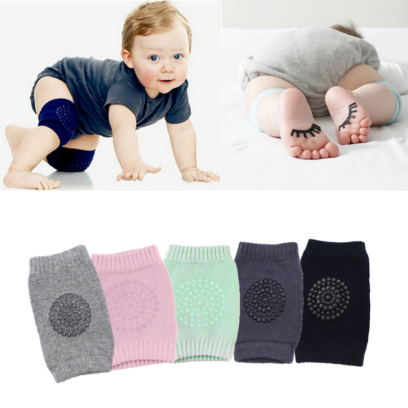 Baby Cotton Knee Pads Kids Anti Slip Crawl Necessary Knee Protector Babies Leggings Children Leg Warmers Support Protector