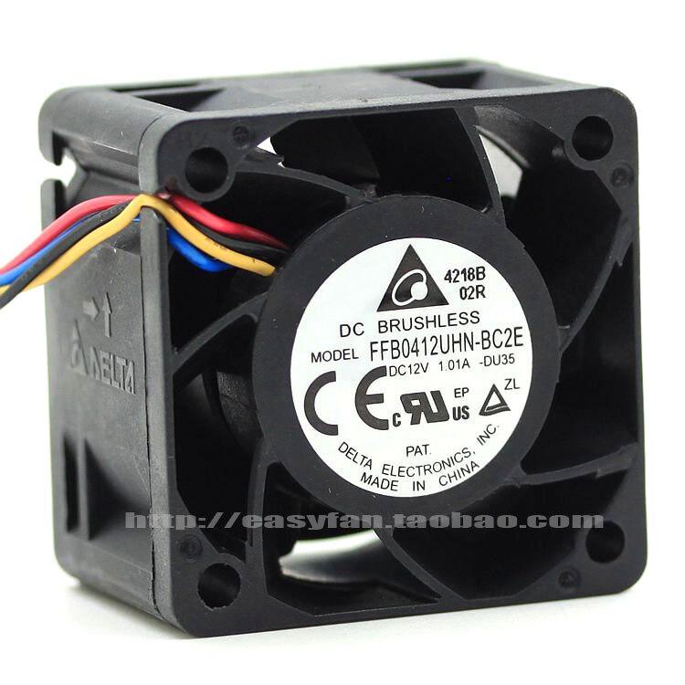 brand new DELTA 4CM 4028 12V 1.01A FFB0412UHN Server cooling fan