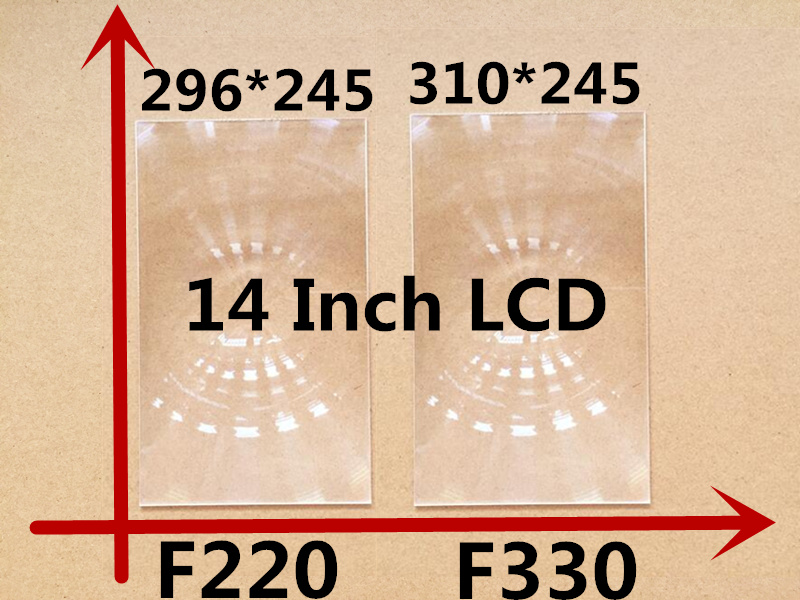 все цены на 2pcs Free shipping 14 inch professional projector fresnel lens with HD fine groove pitch for DIY projector kit Fresnel Lens онлайн