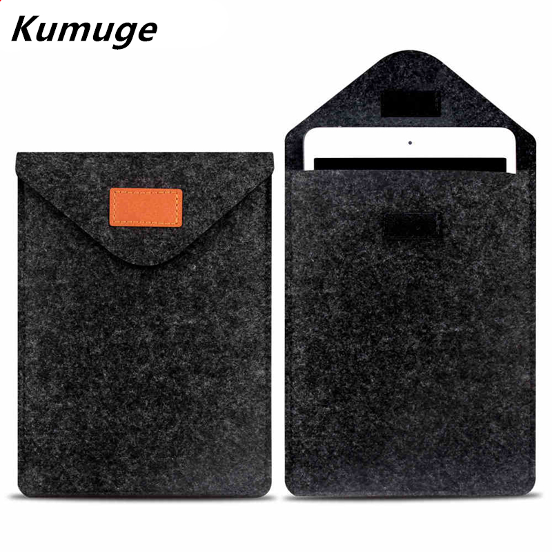 Wool Felt Laptop Liner Sleeve Bag Pouch Tablet Case for 9.7 Inch for iPad 2/3/4/ Air 1/2 Pro 9.7 New iPad 2017 9.7 Galaxy Tab 3 2017 new brand bubm storage bag for ipad air pro 9 7 inch digital accessories sleeve case for 9 tablet free drop shipping