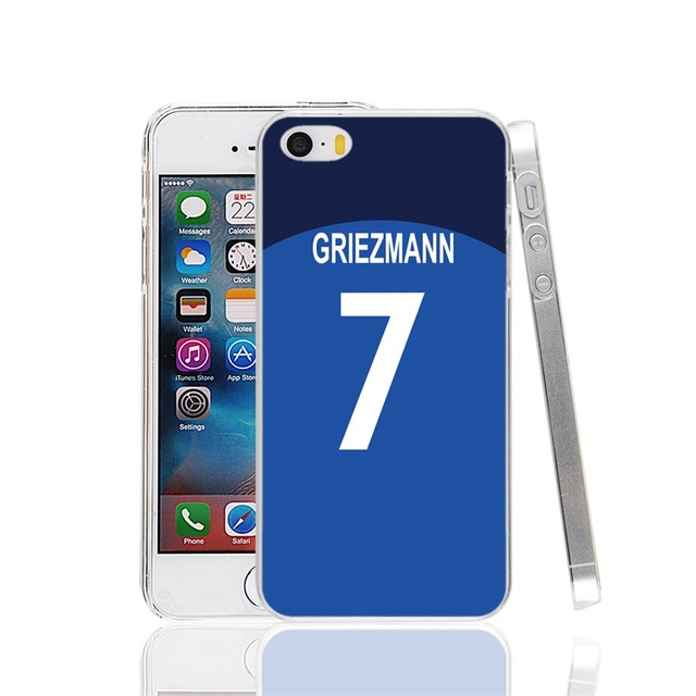 GRIEZMANN Cover cell phone Case for iPhone 4 4S 5 5S SE 5C 6 6S 7 Plus