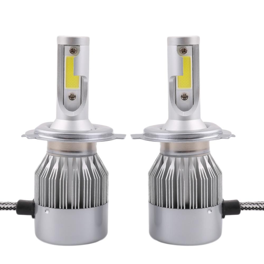 2pcs C8 H4-H/L Car LED Headlamp Bulb Head lights Replace Xenon Headlights 16000lm 9V-36V 160W 6000K White LED Lights Hot Sale oliver l chester h c curiosity house the shrunken head