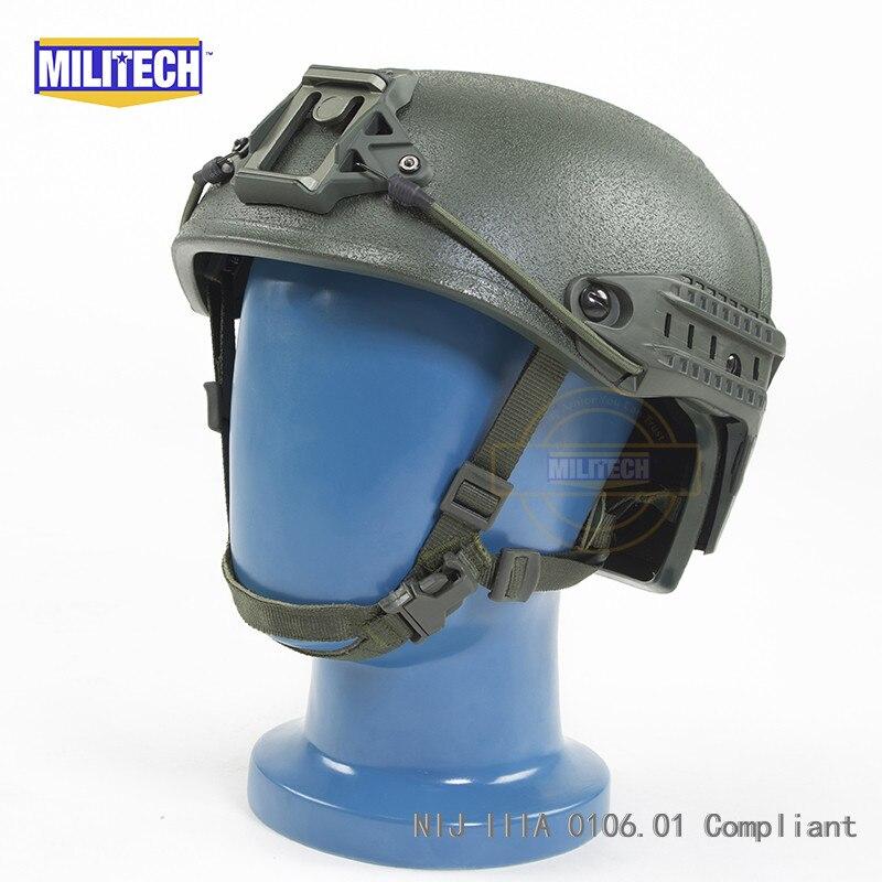 Schutzhelm Militech Od Airframe Entlüftet Nij Iiia Konform Ballistischen Helm Video Kommerziellen Elegant Und Anmutig