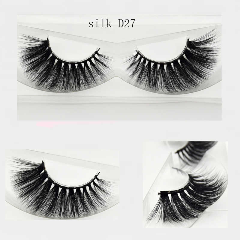 0053d2f6531 ... Visofree Eyelashes 3D Silk Eyelashes Hand Made Natural Long Faux Mink  Lashes Vegan Cruelty Free False ...