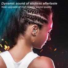 Original tws metal Bluetooth earbuds ipx 7 waterproof earphones true binaural wireless 5.0 earbudt