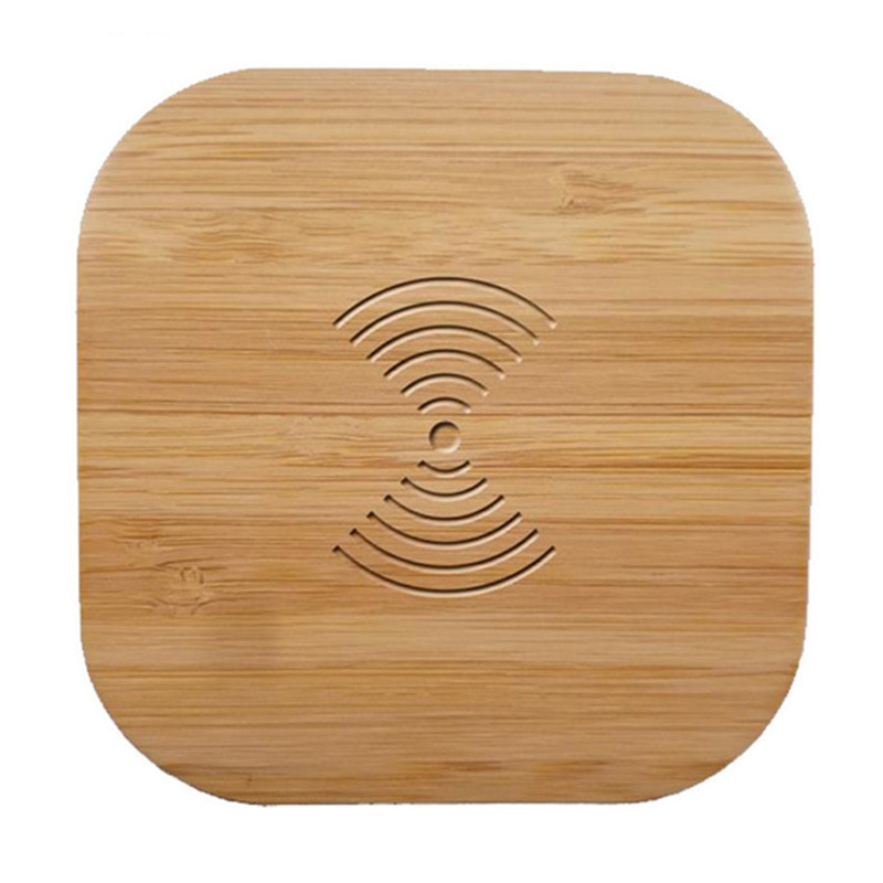 Qi Wireless Charger Wood 10W Fast Wireless Charging Pad For Samsung Galaxy Note 9 S9 S8