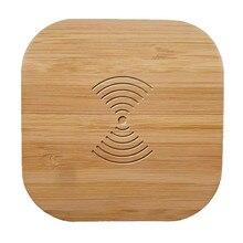 Qi Беспроводной Зарядное устройство дерево 10 Вт быстро Беспроводной зарядного устройства для samsung Galaxy Note 9 S9 S8 S7 край S6 для iPhone 8 X XS XR XMAX