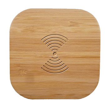 Qi Wireless Charger Wood 10W Fast Wireless Charging Pad For Samsung Galaxy Note 9 S9 S8 S7 edge S6 For iPhone 8 X XS XR XMAX