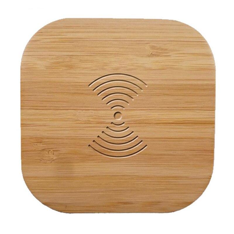2019 Mode Qi Wireless-ladegerät Holz 10 Watt Schnelle Wireless Charging Pad Für Samsung Galaxy Note 9 S9 S8 S7 Rand S6 Für Iphone 8 X Xs Xr Xmax