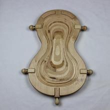 Скрипка поддон шасси пластина скрипка делая инструменты стандартный поддон скрипки