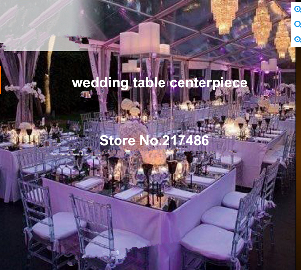 new acrylic candle holder popular home decoration wedding table ...