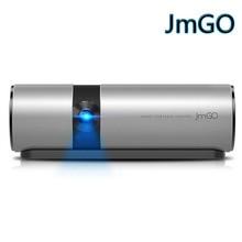 JmGO P2 Ver Teatro Portátil Proyector 3D Full HD 1080 P Inteligente 180 pulgadas Hi-Fi Bluetooth DLP Proyector Beamer Android WIFI