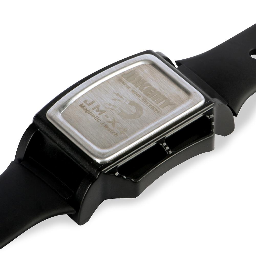 JAKEMY Magnetizer Demagnetizer Tool Powerful Magnetic Wrist Band Wristband Hold Small Metal Nut Screws Adsorption Bracelet JM-X4