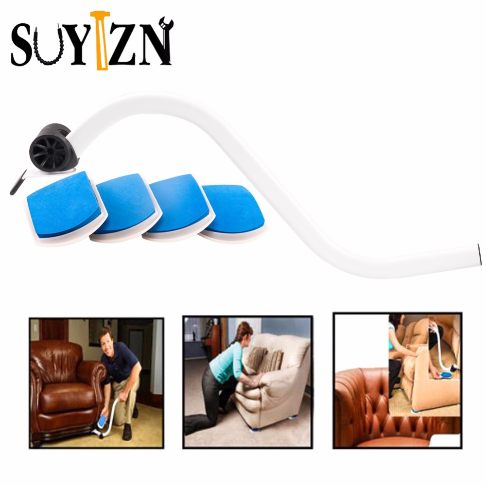 Furniture Moving Slides With Lifter Tool And 4 Slides Tools High Elastic  Sponge For Furniture Move Tools 5 Pcs/Set ZK227