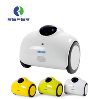 Escam Robot QN02 Wifi Mini Cámara IP Wireless Baby Monitor Cámara de Tocar la Interacción Del Hogar Soporte Audio de Dos Vías