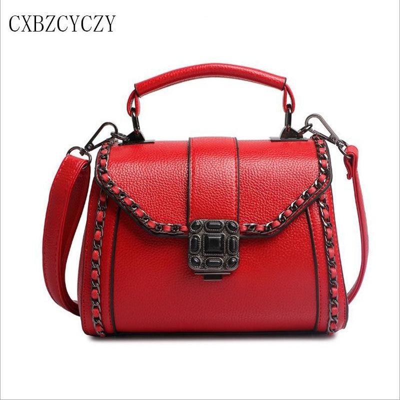Luxury Brand Women Shoulder Messenger Bags Fashion Women Handbag Good Quality Female Tote Lady Clutces Bags Bolsa Feminina Red