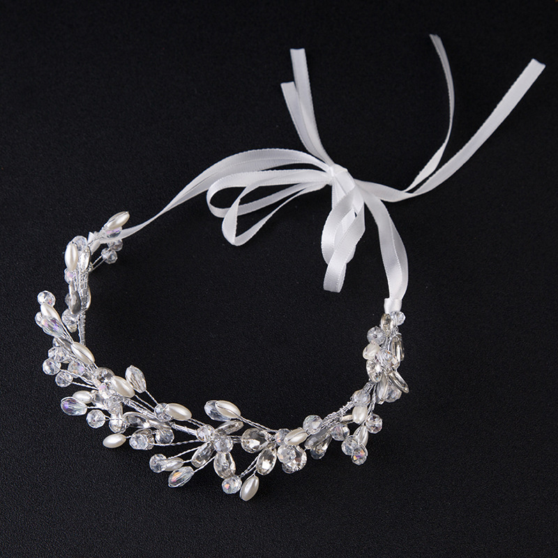 Popular Bridal Headbands with Ribbon Buy Cheap Bridal Headbands