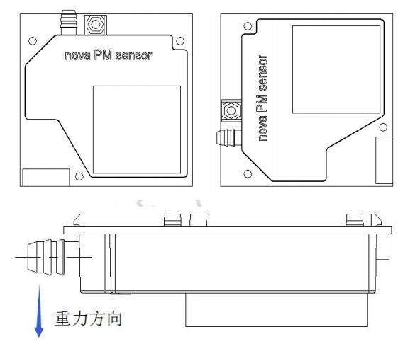 HTB16i 7SpXXXXXcXFXXq6xXFXXX1 - Nova PM sensor SDS011 High precision laser pm2.5 air quality detection sensor module Super dust dust sensors, digital output