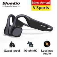 Bluedio V Sport bluetooth headphone Bone Conduction Swimming waterproof wireless headphone with Memory card sport BT 5.0 headset