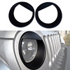 New Angry Bird Head Light Cover Bezels For 07 16 Jeep Wrangler JK Rubicon Sahara