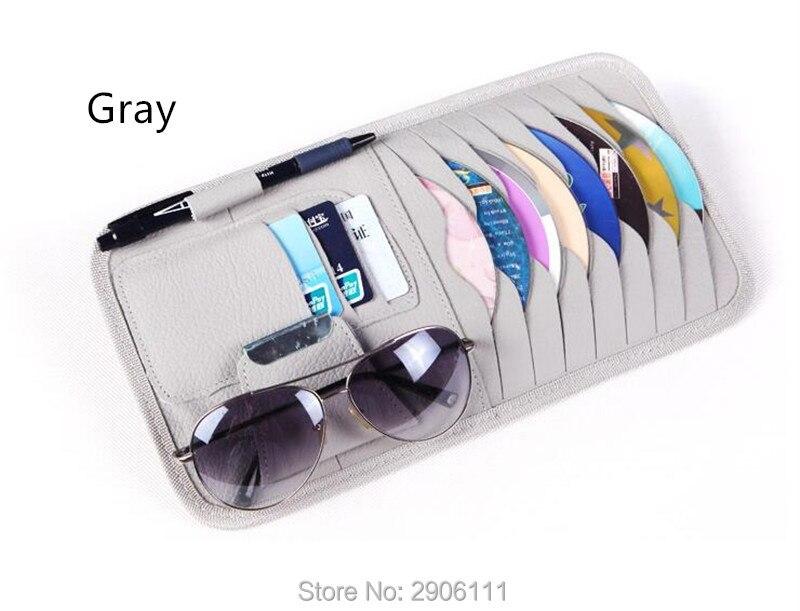 Disc Storage CD DVD eneral Car Sun Visor/card holder for Lada kalina granta priora niva largus samara accessories Car-styling