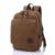 2016 Nova Mochila de Lona Do Vintage Grande Capacidade Sólidos Hasp Zipper Retro Mochila para Adolescentes Mochila Laptop Mochila Casuais