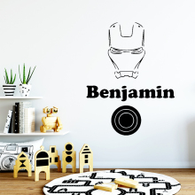 Luxuriant Benjamin Wall Stickers Personalized Creative For Kids Room Decoration