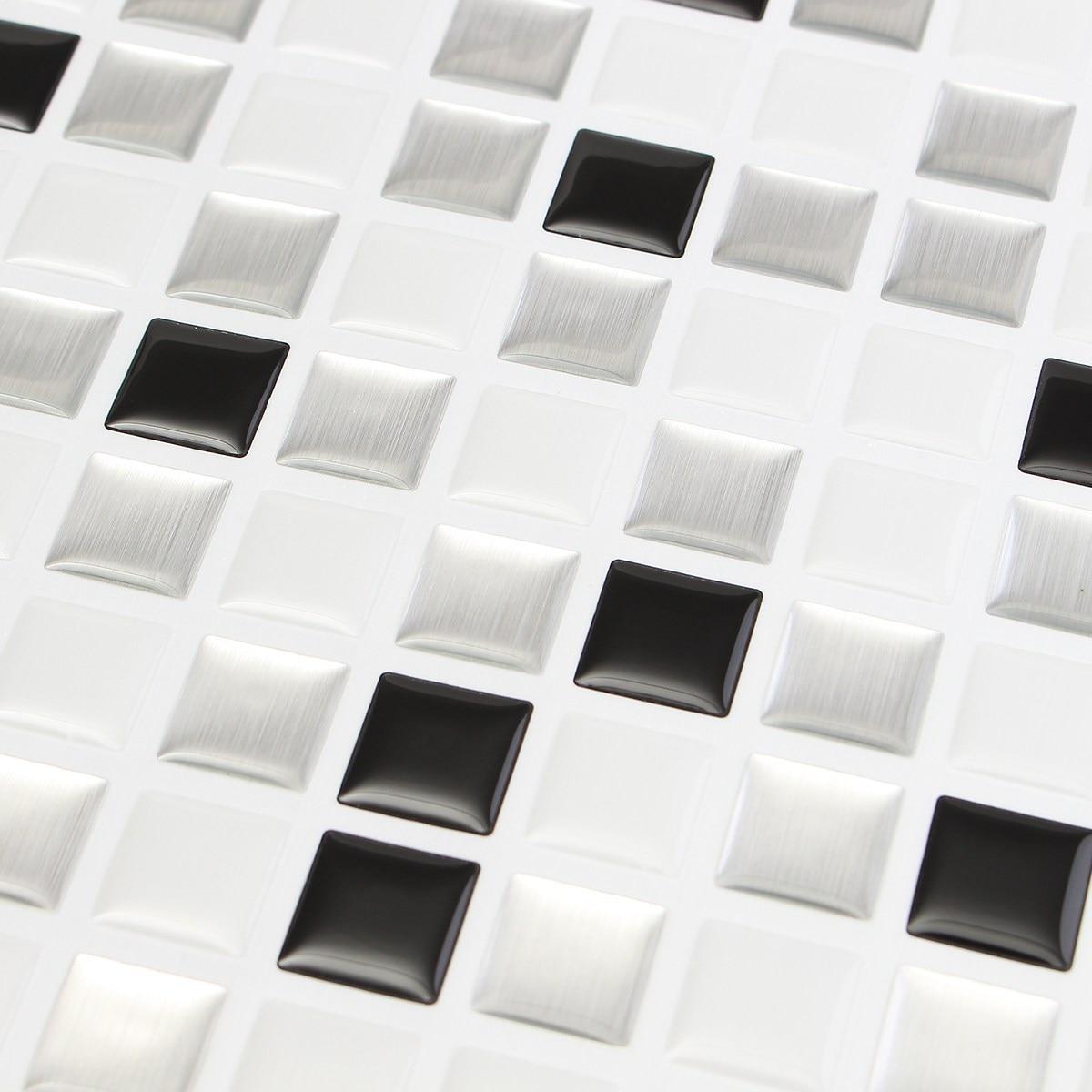 25 X 25cm Waterproof 3D Wallpaper Home Decor Brick Kitchen Bathroom ...