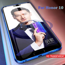 2pcs/lot Full Tempered Glass For Huawei Honor 10 Screen Protector 9H Anti Blu-ray tempered glass For Huawei Honor 10 Glass film