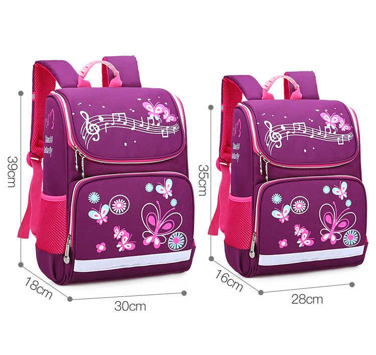 Torby szkolne dla dzieci plecak ortopedyczny dla dziewczynek chłopcy plecaki wodoodporne 3 rozmiary torba na książki plecak dla maluchów Mochila escolar