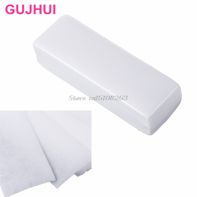 1Pack 100Pcs Hårborttagning Depilatory Nonwoven Epilator Wax Strip Paper Waxing # Y207E # Hot Sale