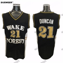 competitive price 46c9f 619a1 Buy 21 tim duncan wake forest and get free shipping on ...