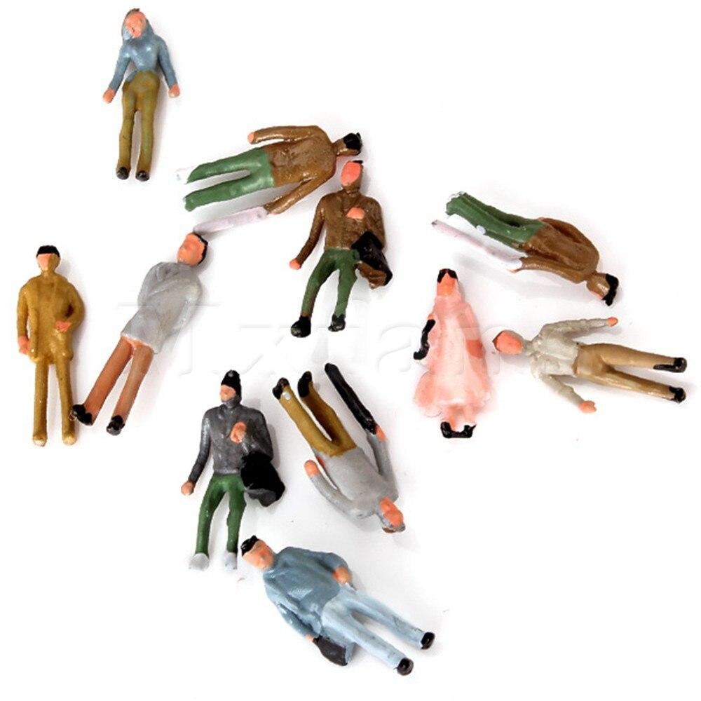 Mxfans 100 шт. бутик 1:150 Весы N Gauge ручная роспись Макет Модель поезда Люди рисунок