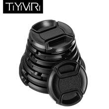 TiYiViRi Универсальный 43 49 52 55 58 62 67 72 77 82 мм крышка объектива камеры Keeper Защитная крышка объектива для Canon Nikon sony Olypums