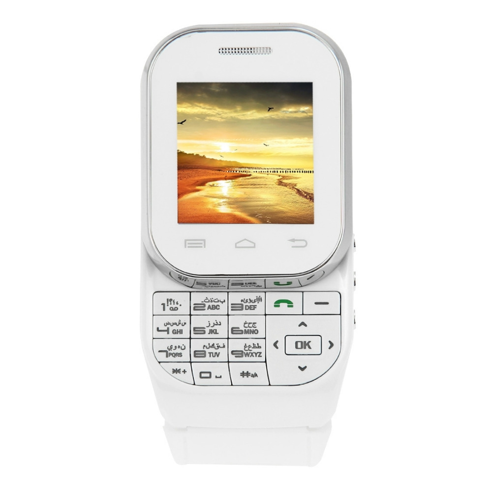 Кен xin «да» w1 смарт-смотреть телефон 1,44 дюймов qcif сенсорный экран выдвижной клавиатурой действия двойной sim bluetooth mp4 gsm