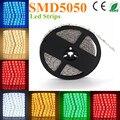 Welpur preço Baixo do Diodo Emissor de Fita Flexível Branco RGB LED Light Strip 5050 SMD 60 leds à prova d' água 300 LEDs 60 leds/metro por dhl