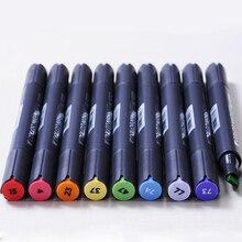 Sta 30/40 cores caneta marcador conjunto de tinta álcool dupla cabeça esboço marcadores escova caneta para desenhar manga arquitetura design arte suprimentos
