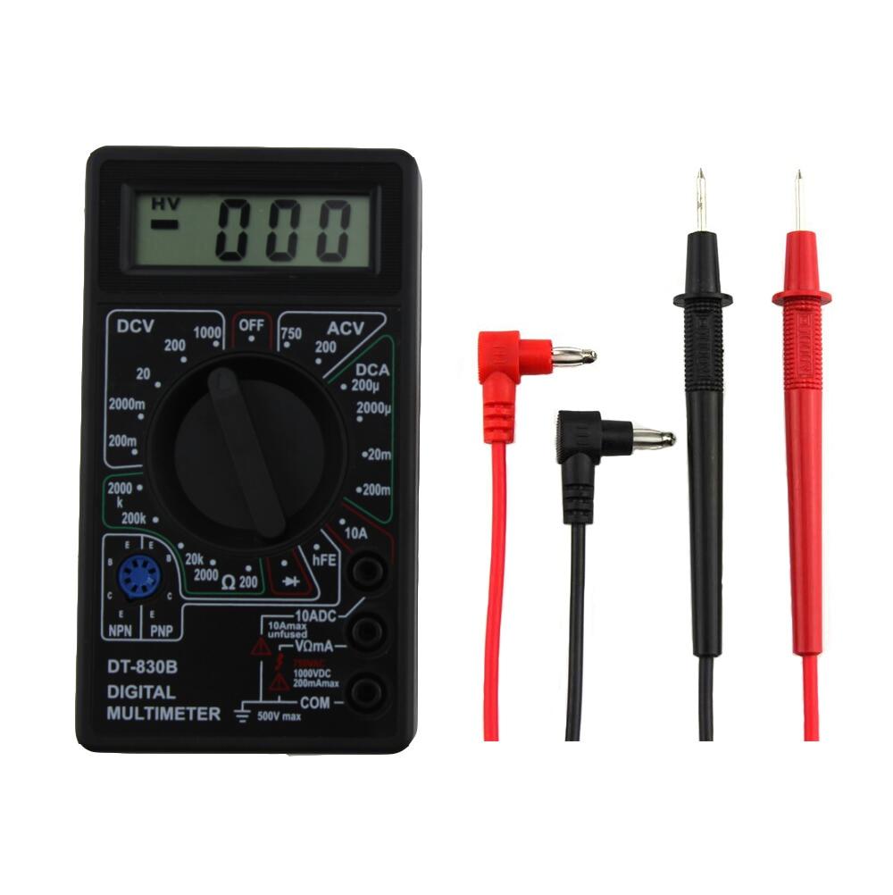 Digital Multimeter Ohm Voltmeter Ammeter AVO Meter DT 830B LCD AC DC  Voltmeter Ohmmeter Electrical Multi Tester-in Multimeters from Tools on  Aliexpress.com ...