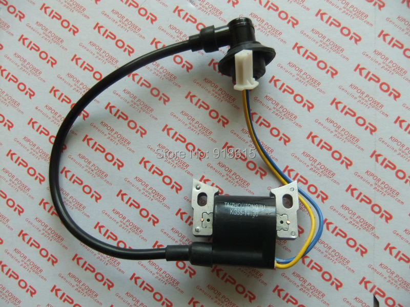 FREE SHIPPING IGNITION COIL FITS KIPOR IG1000 1KVA INVERTER GENERATOR PARTS цена