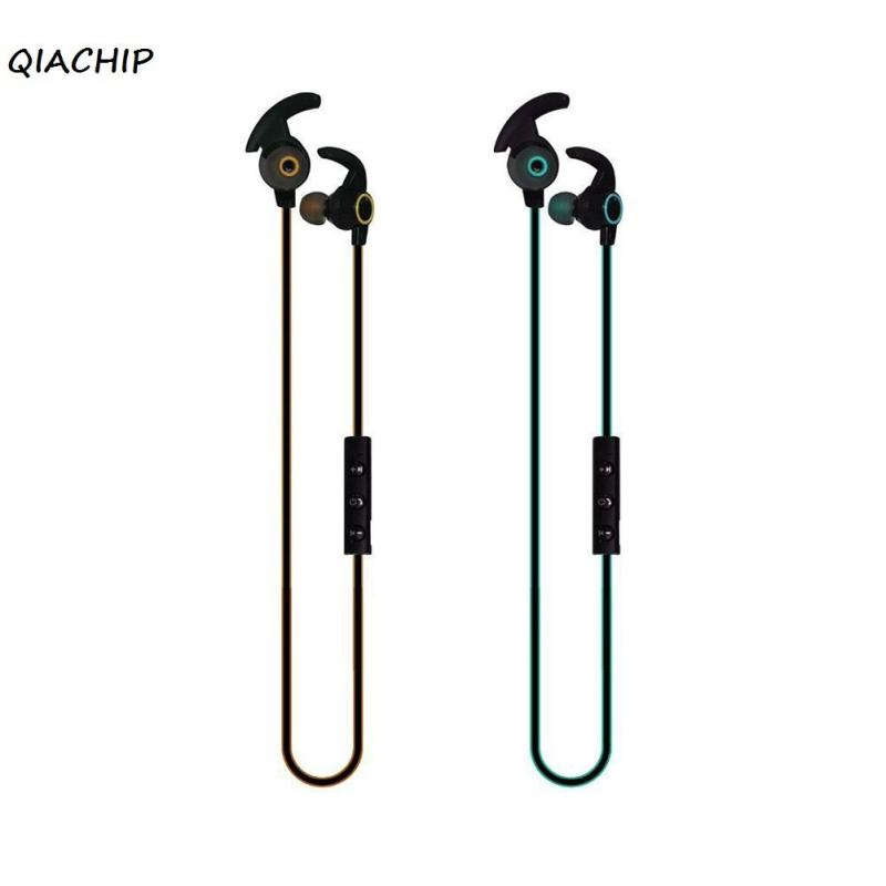 QIACHIP Bluetooth Earphone Sport Running With Mic HIFI Earbud Wireless Earphones Bass Bluetooth Headset For Phone Xiaomi MP3