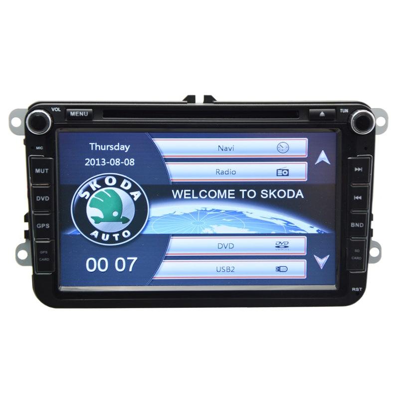 2 DIN Car multimedia DVD Player With GPS Navigation System