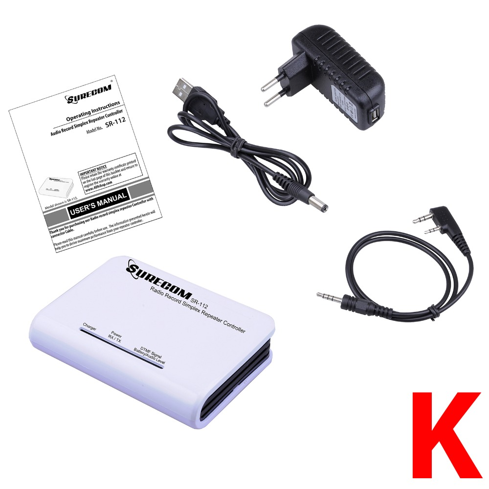 Surecom SR-112 Simplex Repeater Controller with Radio Cable