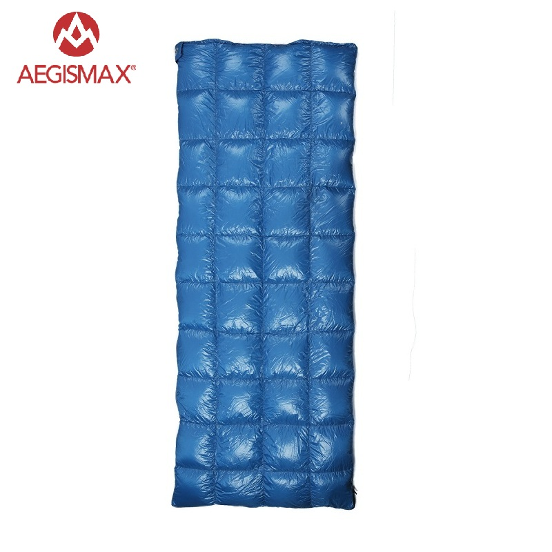AEGISMAX Outdoor Camping 650FP Duck Sleeping Bag Envelope Adlut Sleeping Bag Down Blanket Camp Equipment
