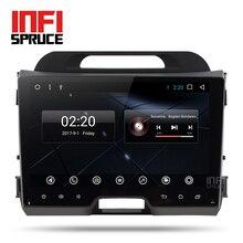 Android 7.1 de dvd del coche para KIA sportage 2010 2011 2012 2013 2014 2015 con radio car stereo reproductor multimedia 2 din de navegación