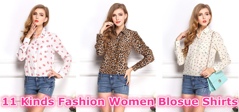 Women blouse Shirts casual (1)