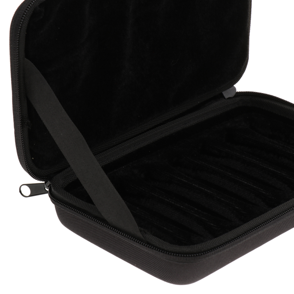 Water resistant Harmonica Gig Bag Case Storage Box for 7pcs Harmonicas in Harmonica from Sports Entertainment