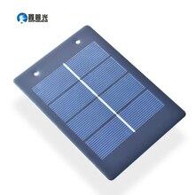 Xinpuguang солнечная панель 10 шт. 1,2 Вт 2 в поликристаллический модуль элемент DIY Солнечное зарядное устройство светильник светодиодный научная игрушка эксперимент открытый