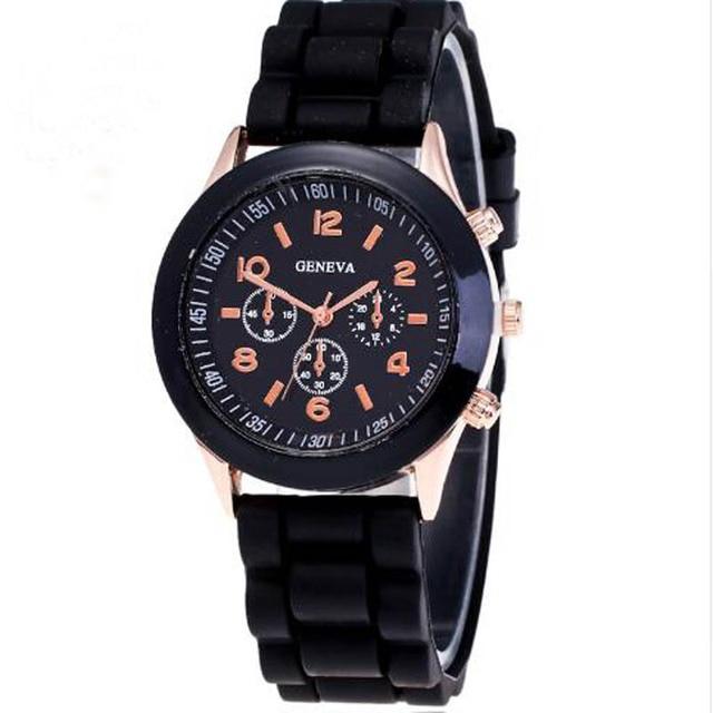 Quartz Military Men Silicone Watches Unisex Wristwatch Sport Watch Relogio Femin