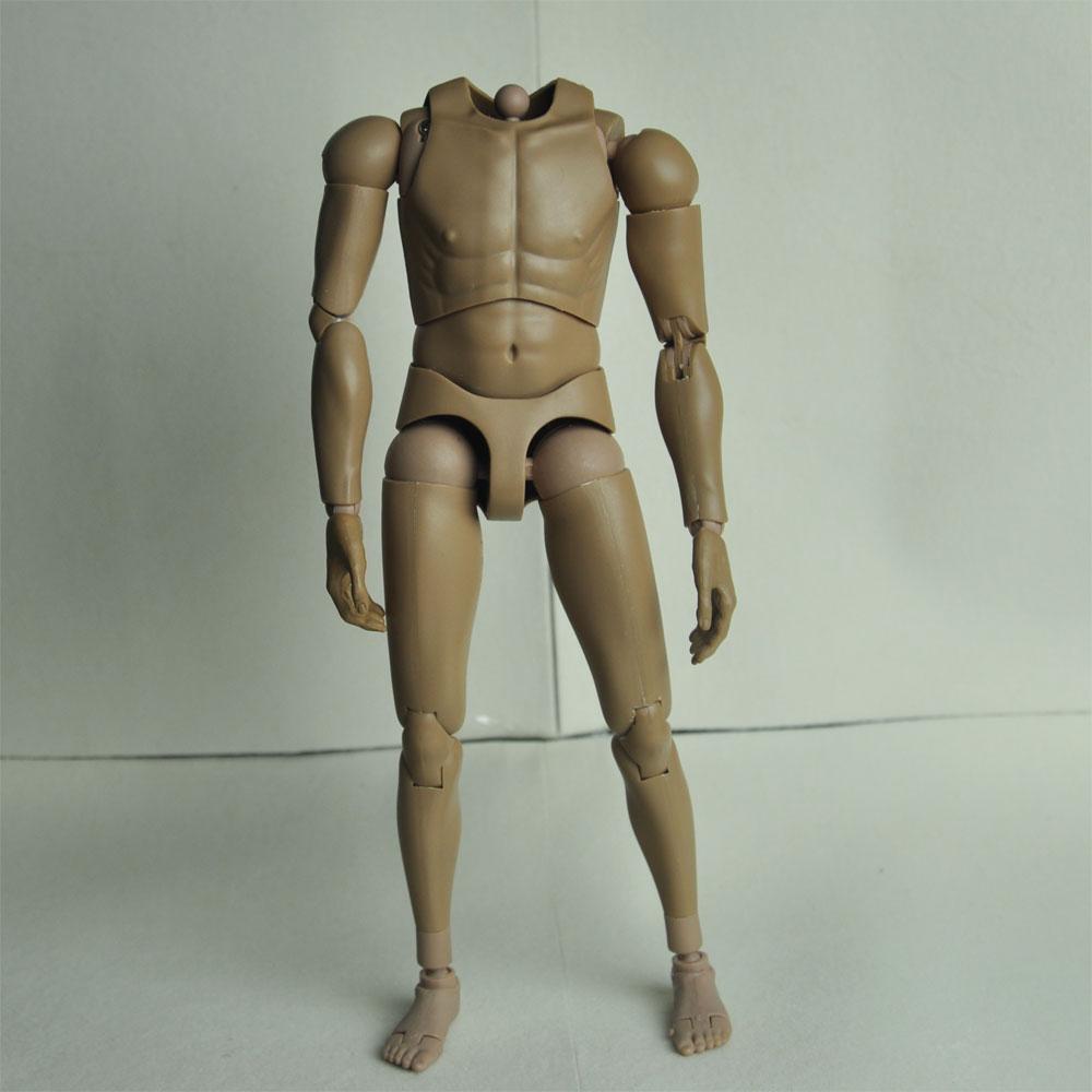 1/6 Dragon DML B001 Male Narrow Shoulder Nude Body 12