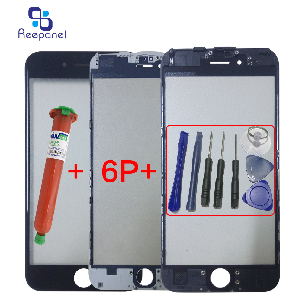 reepanel TouchScreen For iphone6 6s 6plus 6splusDigitizer panel With frame replacement p ...